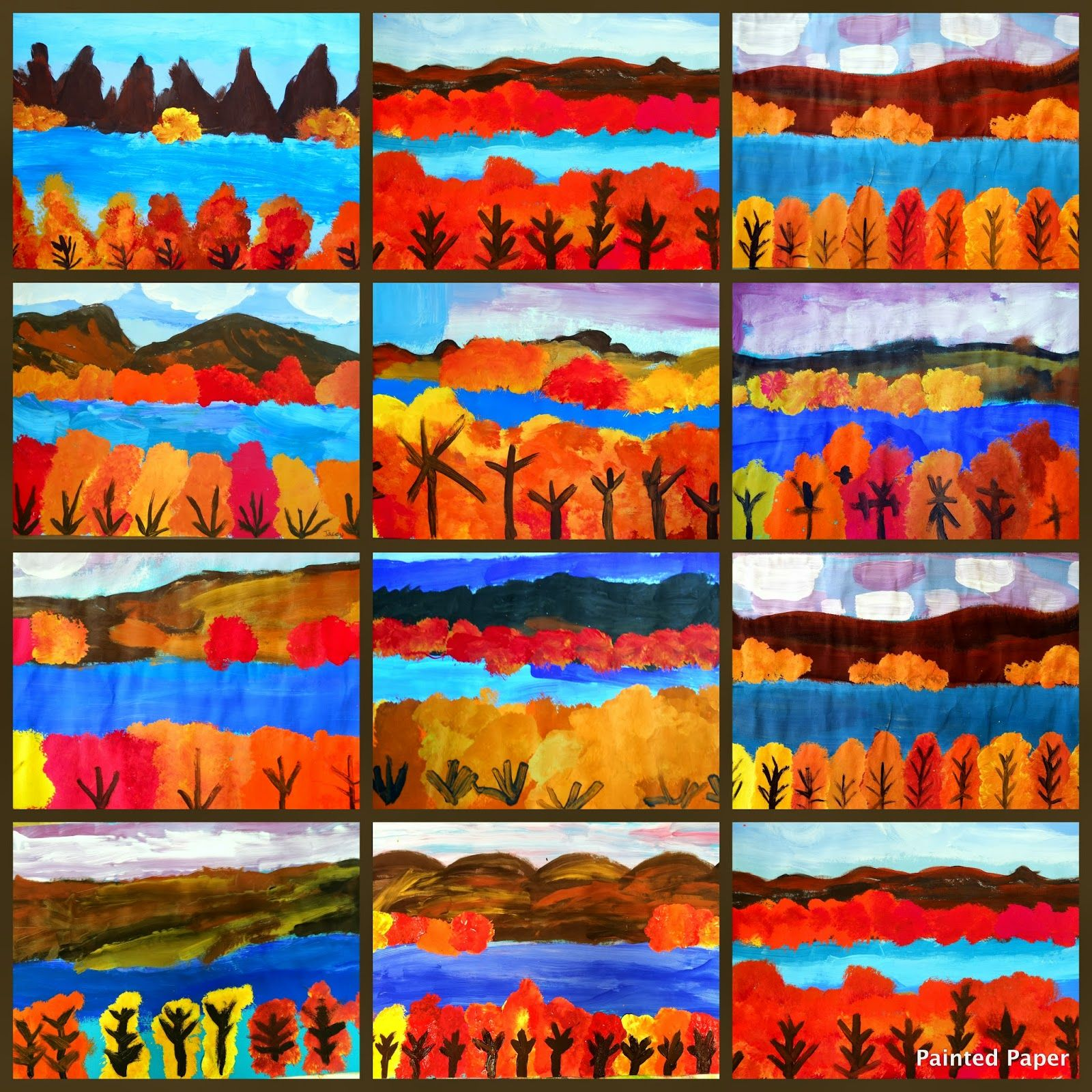 Georgia O Keefe Landscapes Using Warm Colors