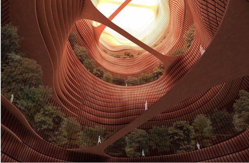 Earthscrapers: Is Going Down Instead Of Up A Greener Way To Build? : TreeHugger