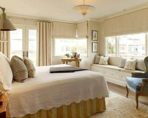 Chambre romantique bonne nuit tout le chambres déco de chambre idées déco pour la chambre sièges de chambre fenêtre bancs de fenêtre vitrée