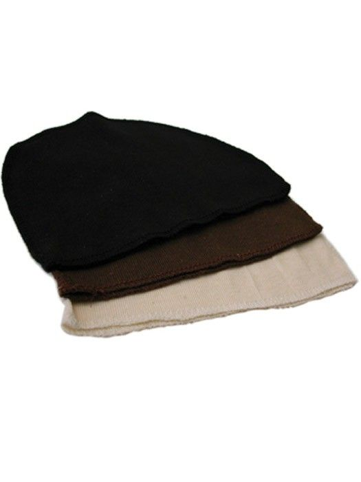 Cotton Liners by Jon Renau: Colors Black, Brown and Cream