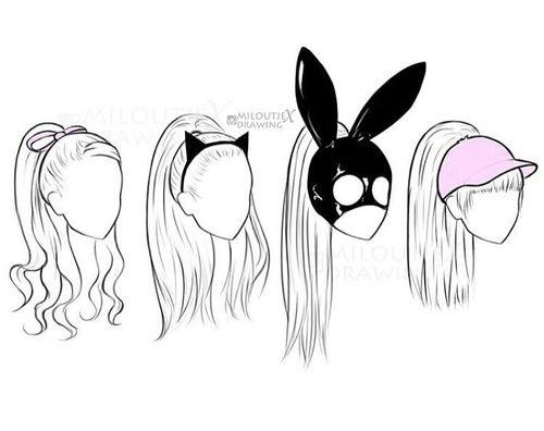 Imagem de ariana grande | Drawings | Pinterest | Ariana Grande ...