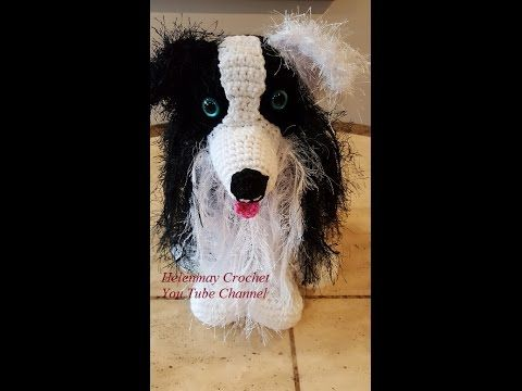 Tutorial Amigurumi Annarellagioielli : Crochet border collie amigurumi dog part of diy tutorial