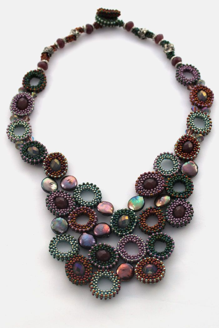 Bead Society of Victoria Challenge 2011 - Joanne Ivy's entry