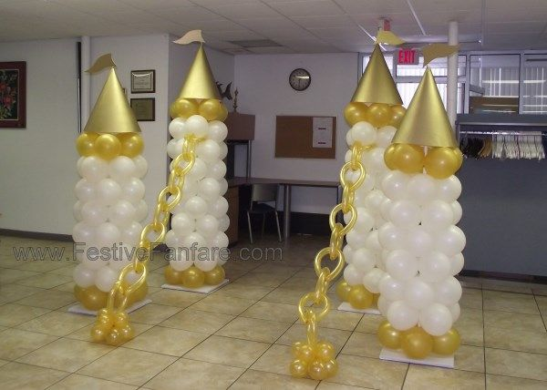 Royal Baby Shower Using Balloons   Mad About Balloons