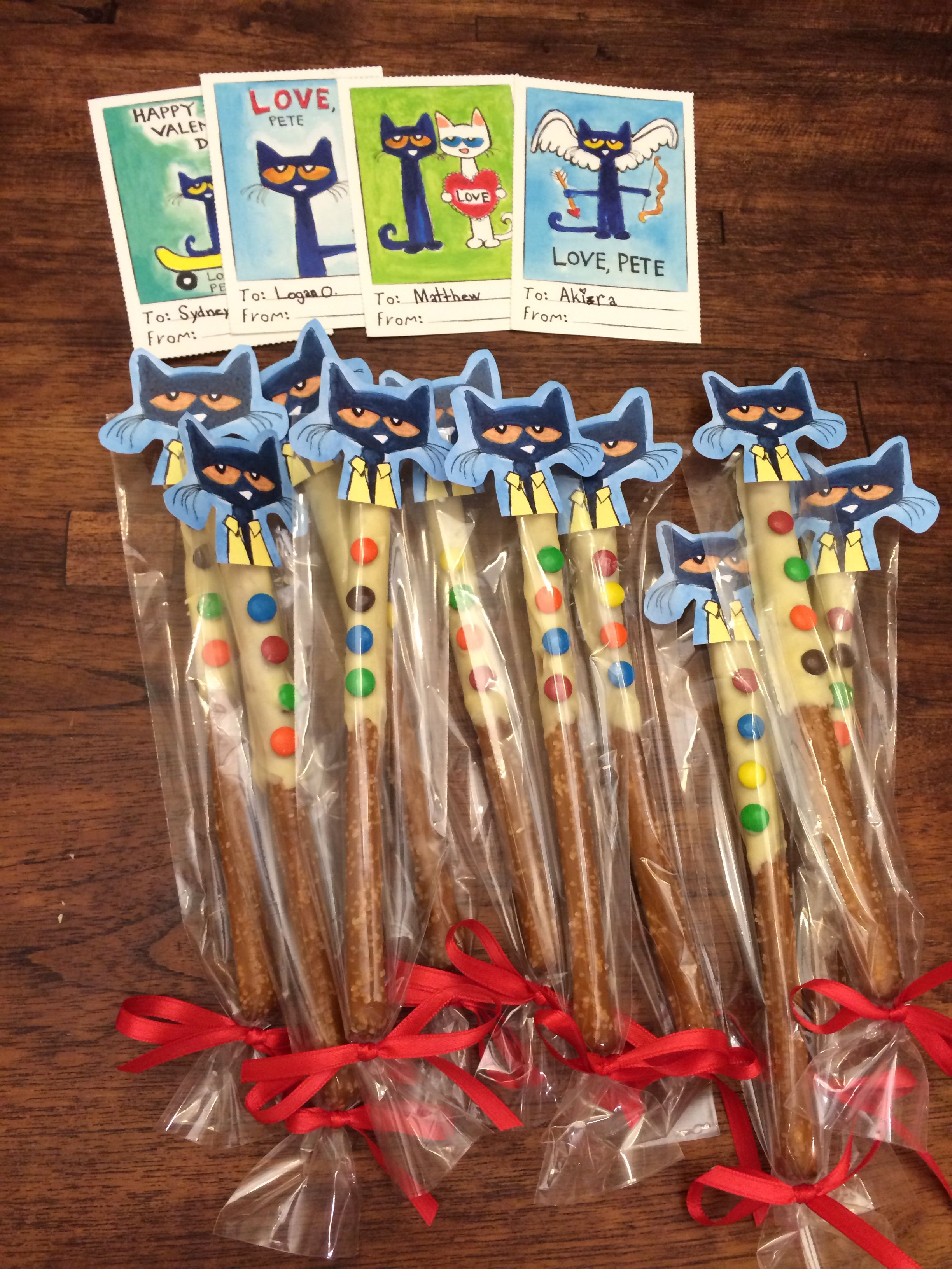 Pete The Cat And His Four Groovy Buttons Valentines