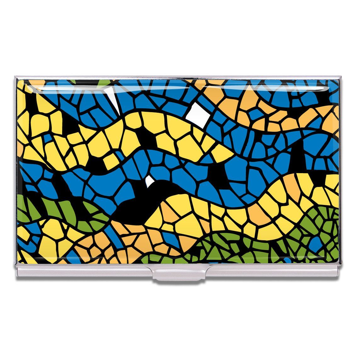 Mosaic Business Card Case by Antoni Gaudi for Acme Studio | Business ...