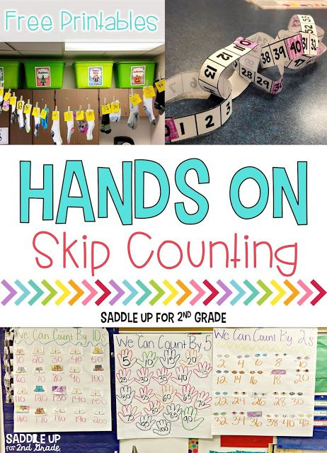 Hands On Skip Counting | Pinterest | Skip counting, Free printable ...