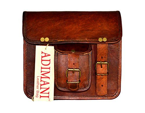 Adimani Vintage Leather Handmade Small Sling Bag 9 Inches Genuine