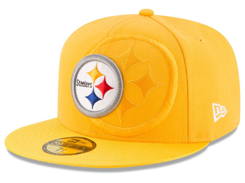 Pittsburgh Steelers New Era 2016 Official NFL Sideline 59FIFTY Cap (7 3 8) ad43a7505