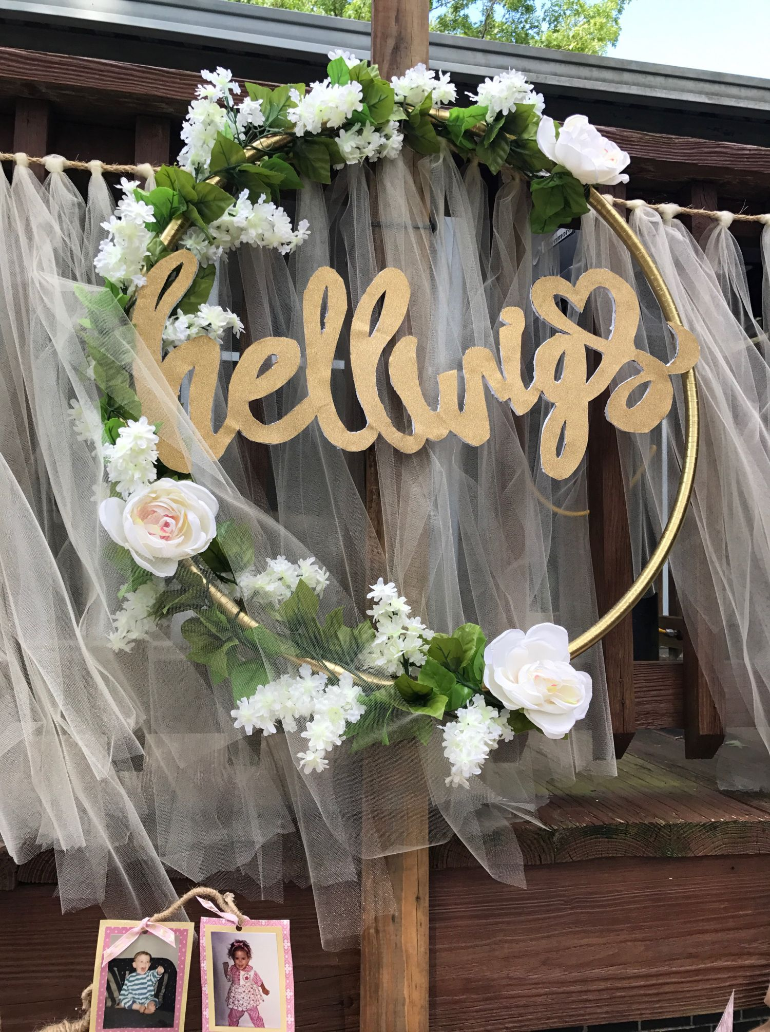 Hoop Wreath Wedding