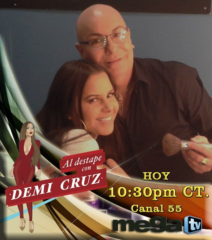 No te pierdas el programa de hoy con nuestros invitados especiales que estarán en Al  Destape con Demi Cruz, sintoniza la Mega TV y vive una hora  diferente... #HoustonTV  #Canal55