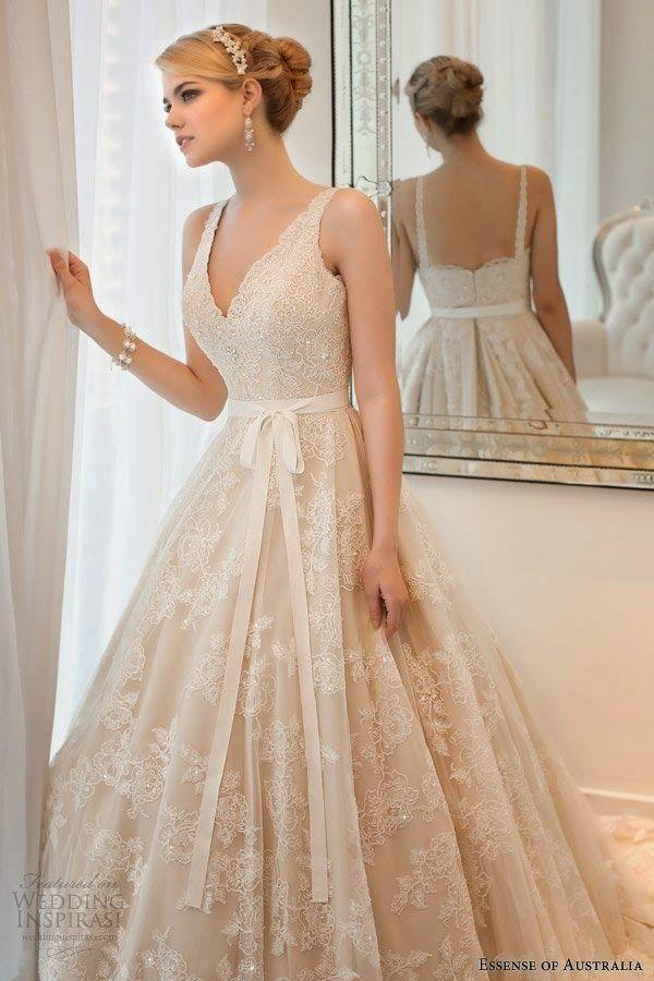 Hermosos vestidos de novias | Vestidos unicos | Wedding day ...