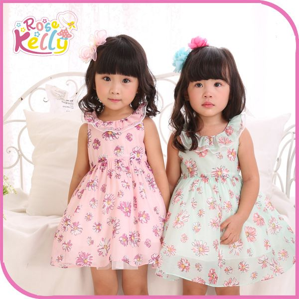 Summer Little Baby Girls Dresses Kids Smocked Dresses Manufacturer From Dongguan…
