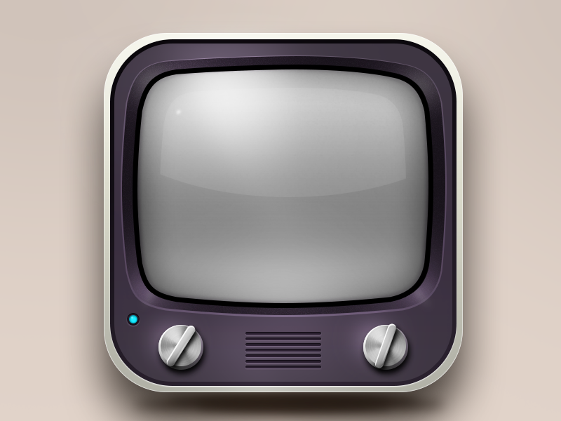 Tv App icon design, App icon, Ios icon