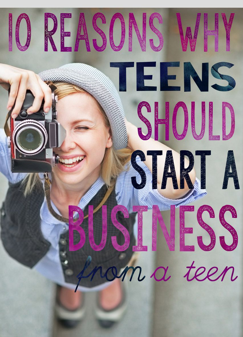 for teens a business starting