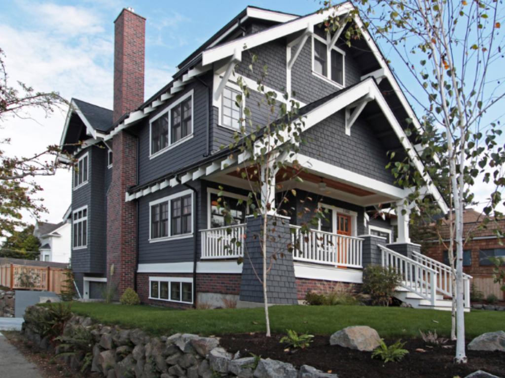 High Contrast American Heritage Exterior Color Scheme Home Exterior Pinterest Exterior
