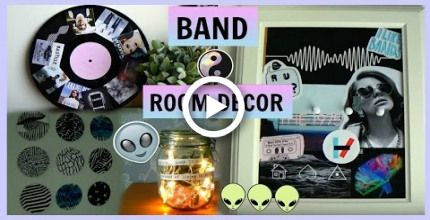 DIY BAND/MUSIC ROOM DECOR  diys for fans! images