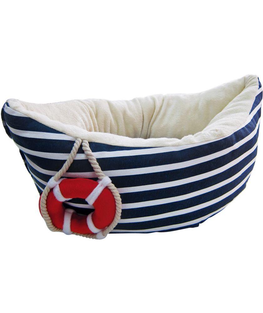 Buy Pet Brands Sailor Boat Dog Bed - Navy Blue at Argos.co.uk - Your Online Shop for Dog beds.