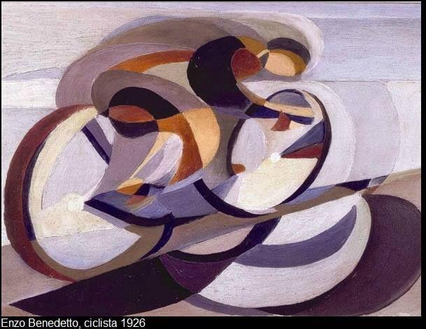 Enzo Benedetto (1905-1991) est l'un des tout derniers artistes à se rattacher au mouvement futuriste crée par T. Marinetti et U. Boccioni en 1909. Natif de Reggio di Calabria