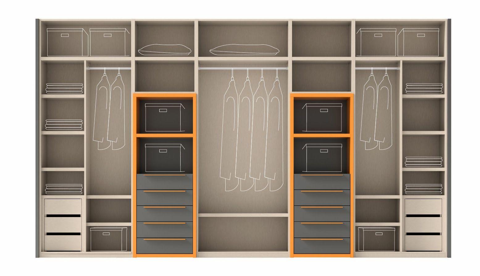 Configura el interior de tu armario - Blog de Muebles Ros   armarios ...