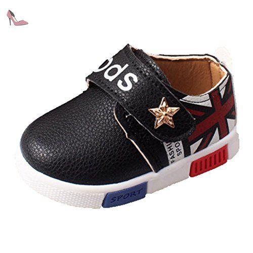 9cb0941ace374 Ohmais Enfants Chaussure Bebe Garcon Fille Premier Pas Chaussure premier  pas bébé Sandale en tissu souple - Chaussures ohmais ( Pa…