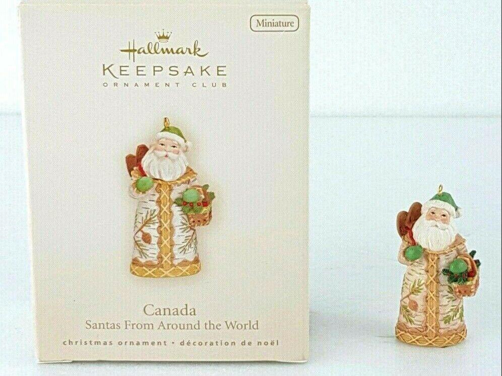 Details about 2008 Hallmark Canada Santas From Around the