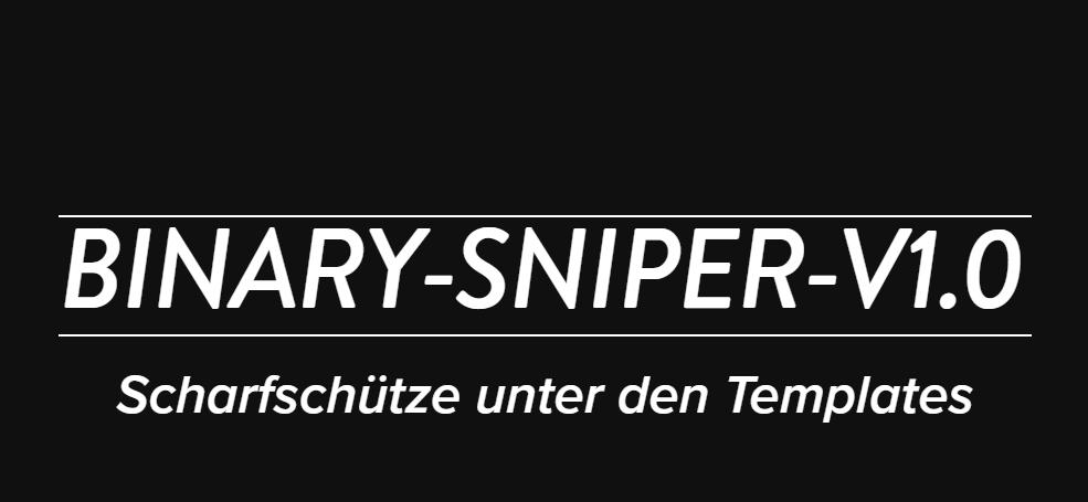 Binary Sniper (Binary Shooter) Pro free Download Kostenlos
