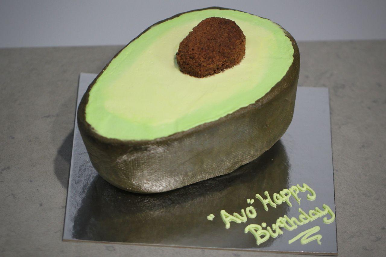 Awe Inspiring Image Result For Avocado Themed Birthday Cake Let Them Eat Cake Funny Birthday Cards Online Hendilapandamsfinfo