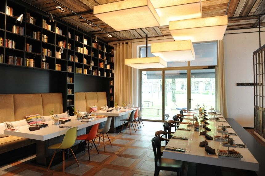 Restaurant design booths look like they would cost less by