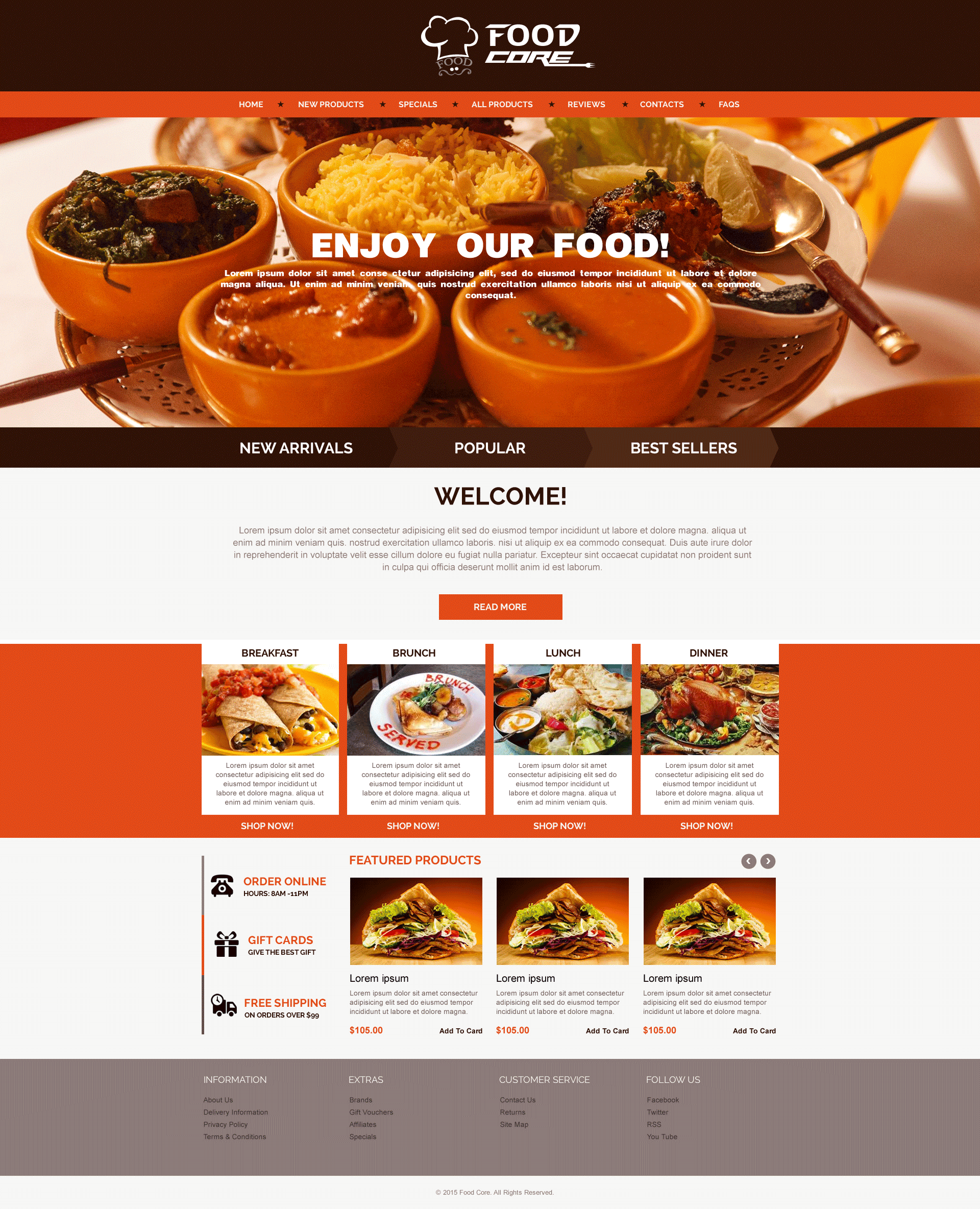 Sell365s food template one of the best website builder in india sell365s food template one of the best website builder in india design and customize forumfinder Image collections
