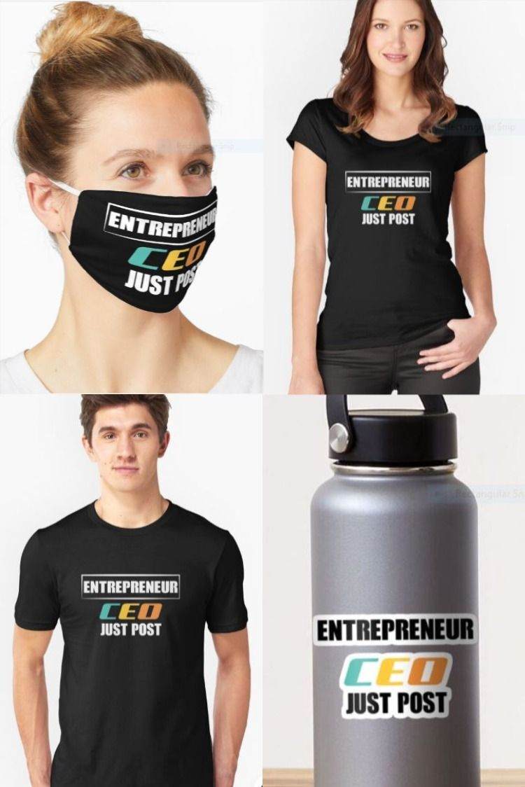 entrepreneur CEO JUST POST in 2020 Comfy tees, Classic