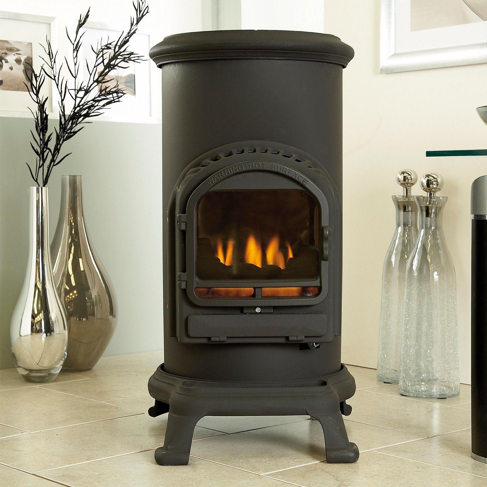 Portable Gas Fireplace Heater | Fireplace | Pinterest | Fireplace ...
