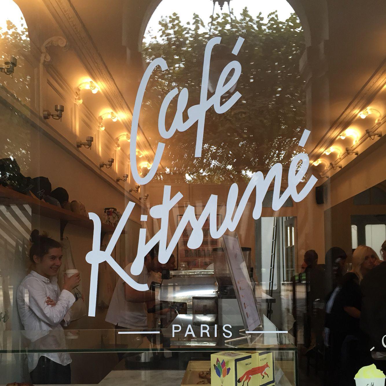Café Kitsuné Paris www.arcadiandco.com
