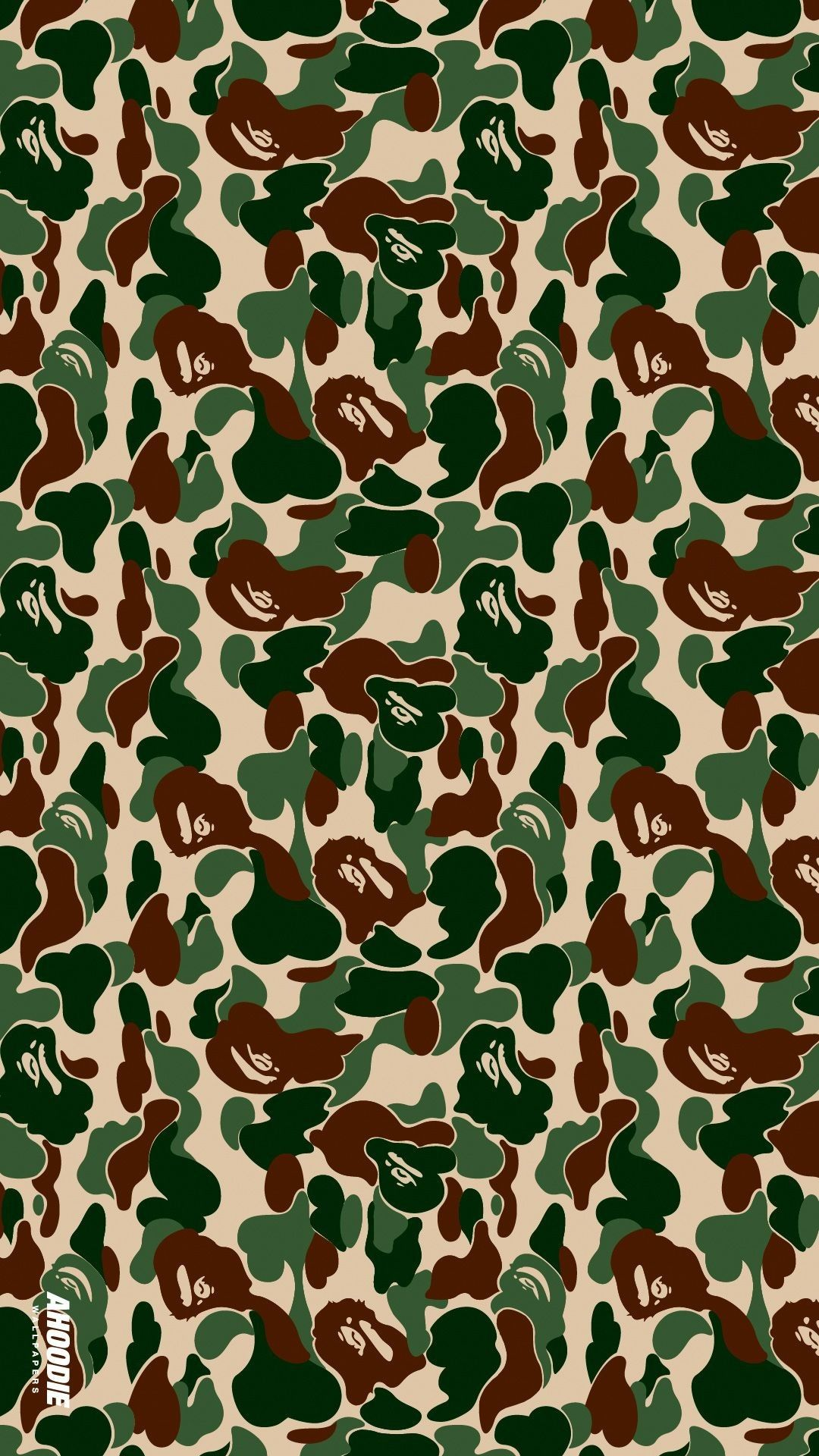 Bape Blue Picture in 2020 Camo wallpaper, Android
