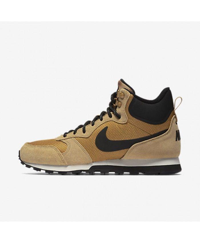 Air max · Nike MD Runner 2 Mid Premium Wheat Light Bone Black 844864-701