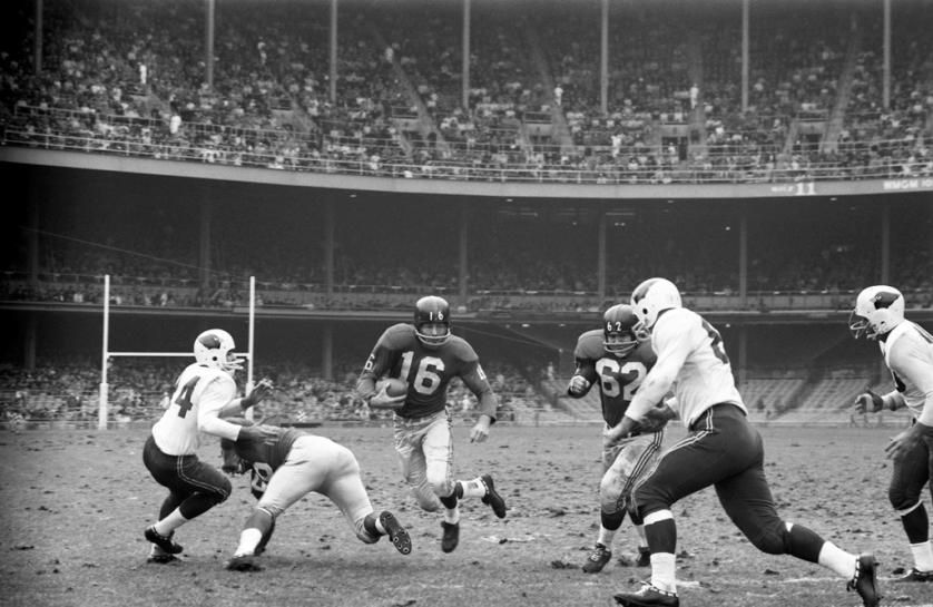Rosey Grier and the 1960 Giants Rare Photos New york