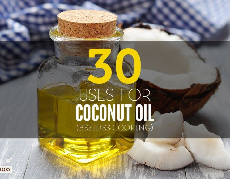 30 uses for coconut oil besides cooking coconut oil