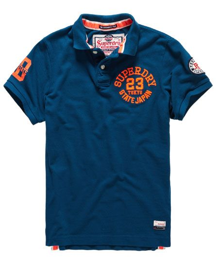 Super State Pique Polo Shirt | Mens polo t shirts, Polo t