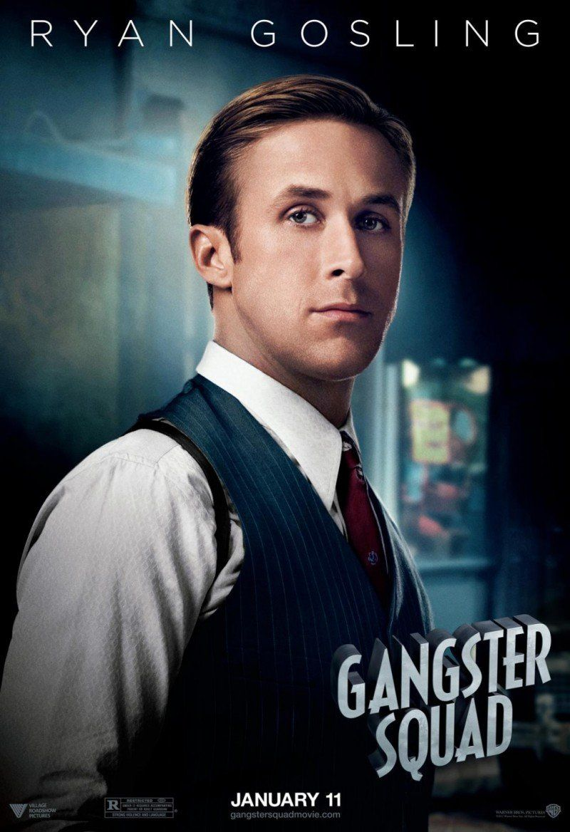 Thearthunters Gangster Squad Gangster Ryan Gosling