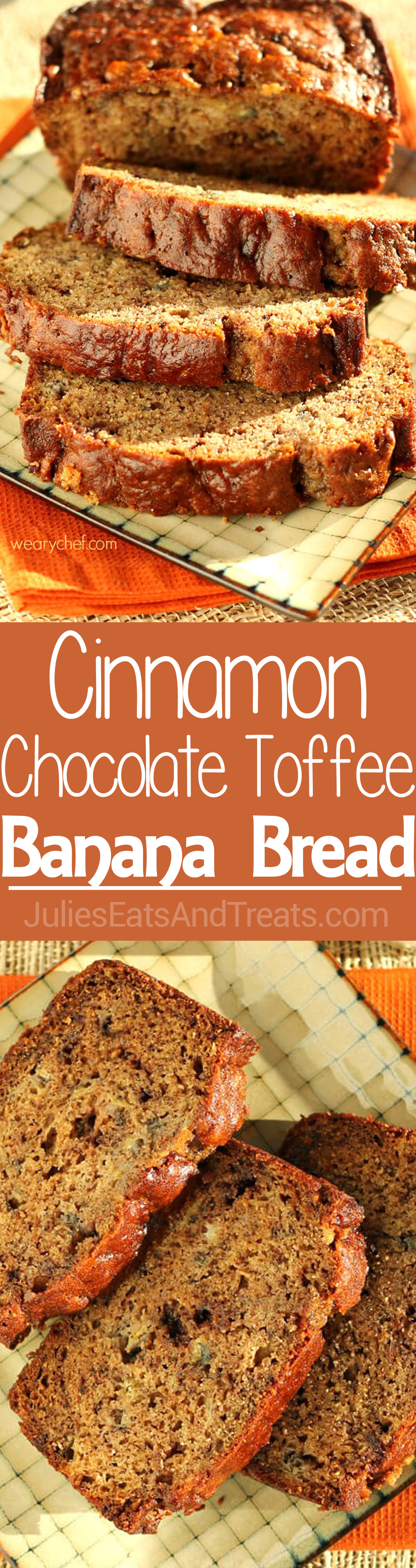 Cinnamon chocolate toffee banana bread recipe chocolate toffee food network star cinnamon chocolate toffee banana bread this chocolate toffee banana bread is perfect for breakfast forumfinder Gallery