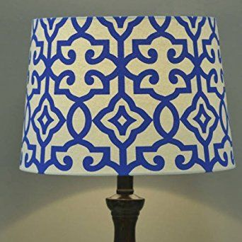 Wonderful Better Homes And Gardens Irongate Lamp Shade (BLUE FIRE)