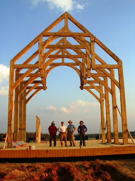 Timber Frame Construction, Post and Beam Construction, Heavy Timber Design: Holder Brothers Timber Frames