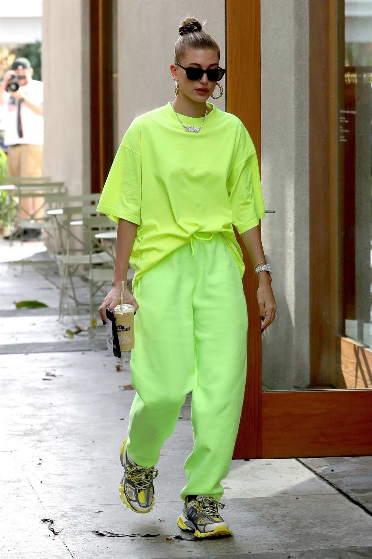 Neon Green Is Definitely Winter S Hottest Trend Neon Outfits