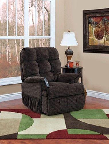 Med Lift Sleeper/Reclining Lift Chair   Vista   Earth, Brown