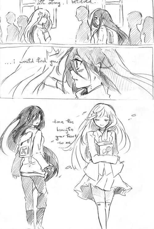A thousand years - Bubbline Comic pt 1 of 3