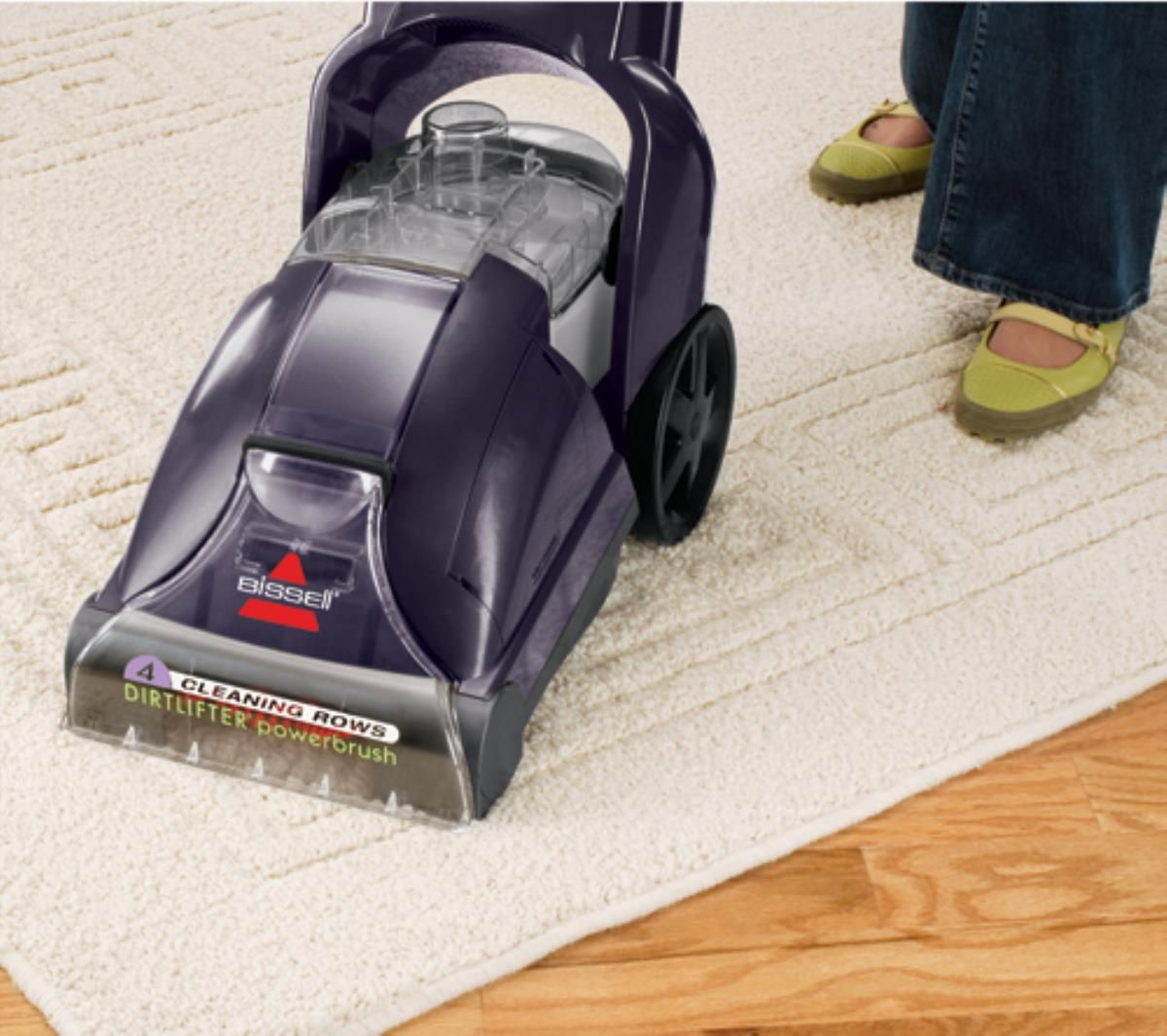 the bissell powerlifter powerbrush carpet cleaner can deep clean carpet and area rugs