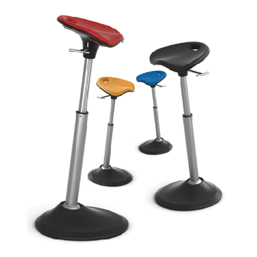 Leaning stool for any standing desk back to school for Chairs for standing desks