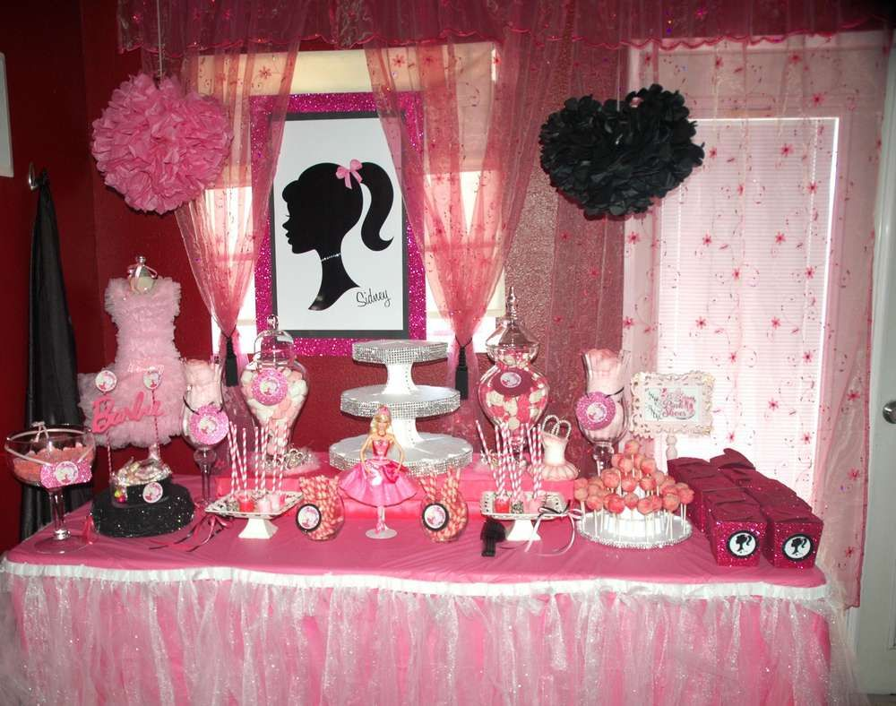 2 Year Birthday Ideas Barbie Pink Shoes Birthday Party Ideas Pink Shoes Barbie And
