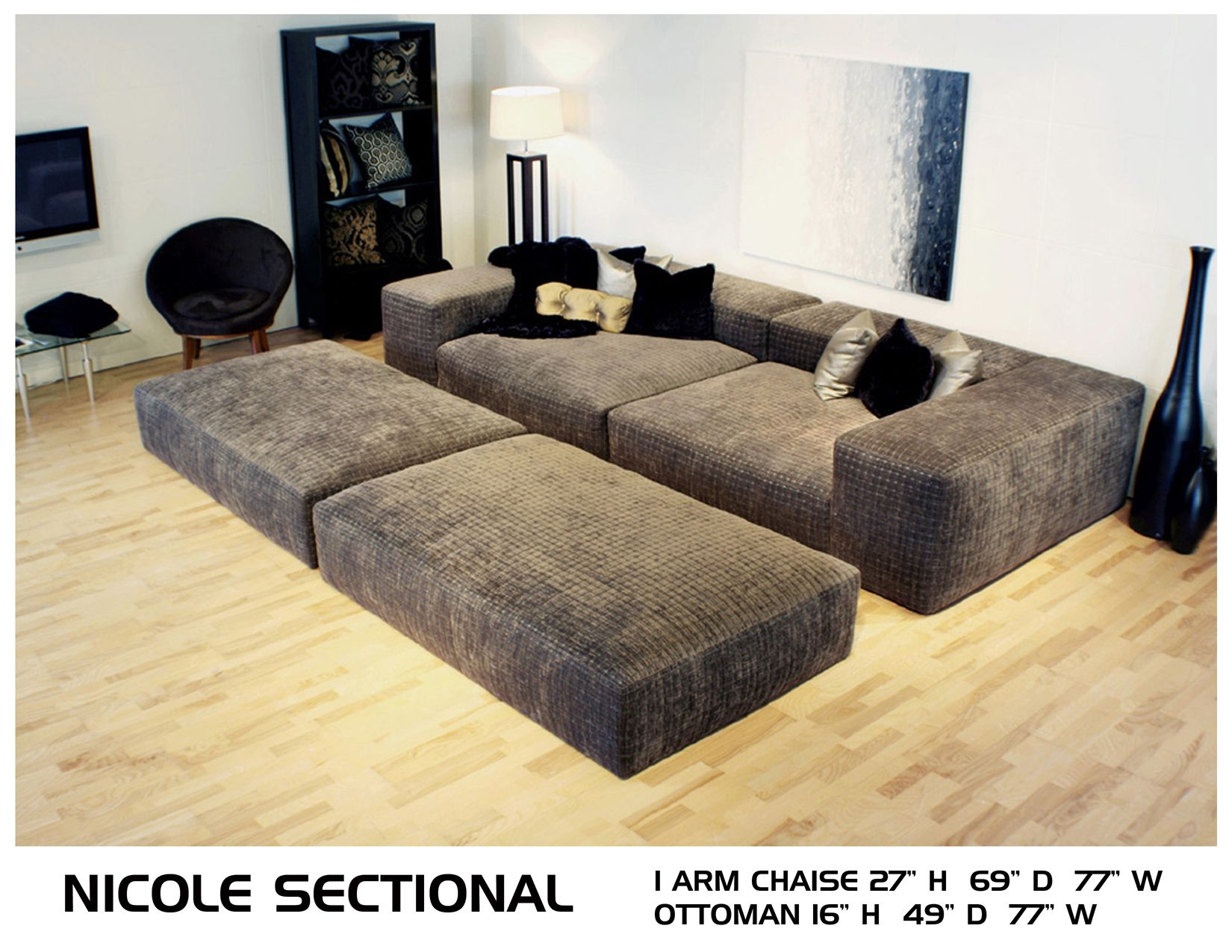 extra pillows within sectional garcia sofa seated decorate deep with sofas