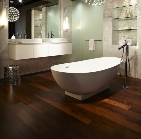 24 Ideas For Bathroom Floor Laminate Dark Bathroom Dark Brown Floor Rustic Laminate Flooring Wood Floor Bathroom
